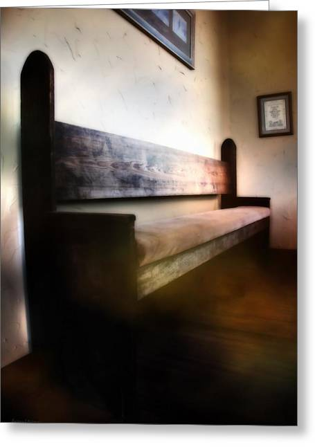 Old Home Place Digital Greeting Cards - A Resting Place Greeting Card by Barbara D Richards