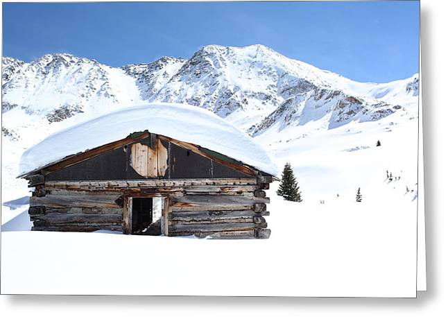 Snow Drifts Greeting Cards - A Room with a View Greeting Card by Eric Glaser