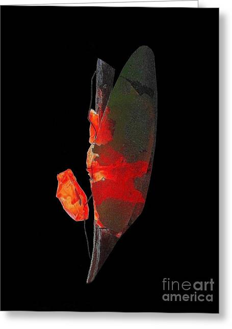 Roses Glass Greeting Cards - Rose for Judit Greeting Card by Vincent Cherib