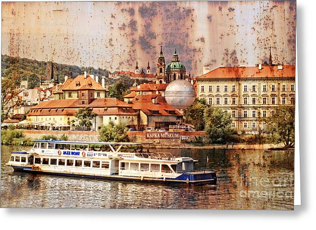 Kafka Photographs Greeting Cards - A rusty Day. Greeting Card by Bridget Jones