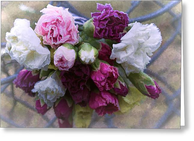 Ron Roberts Photography Prints Greeting Cards - A Sad Bouquet Greeting Card by Ron Roberts