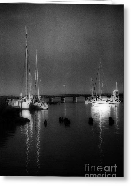 Sailboat Photos Greeting Cards - A Safe Harbor Greeting Card by Skip Willits