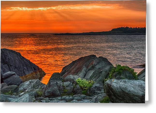 Sunset Greeting Cards Greeting Cards - A Sailors Delight  Greeting Card by Garvin Hunter
