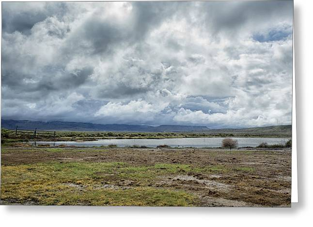 Alternative Home Decor Greeting Cards - A Sense of Remoteness Greeting Card by Belinda Greb