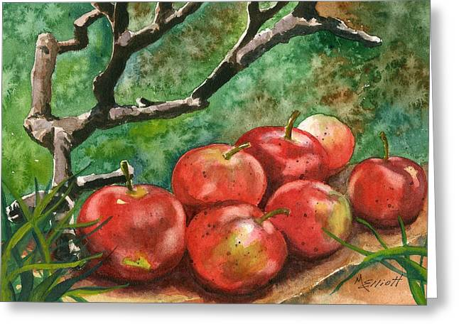 Http Greeting Cards - A Sign of Autumn Greeting Card by Marsha Elliott
