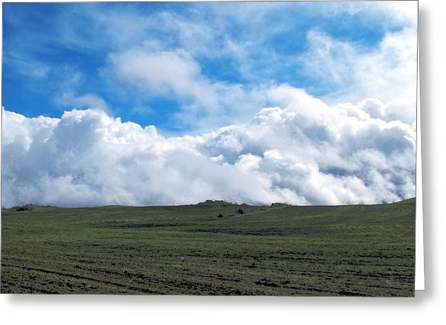 Firmament Greeting Cards - A Simple Majesty Greeting Card by Glenn McCarthy Art and Photography