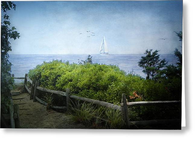 Cod Digital Art Greeting Cards - A song of what will be... Greeting Card by Lianne Schneider