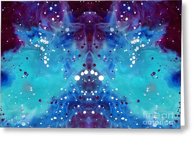 Multidimensional Greeting Cards - A Soul Sparking Greeting Card by Denise Nickey