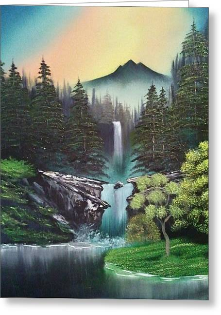A Special Mountain Spot Greeting Card by Lee Bowman