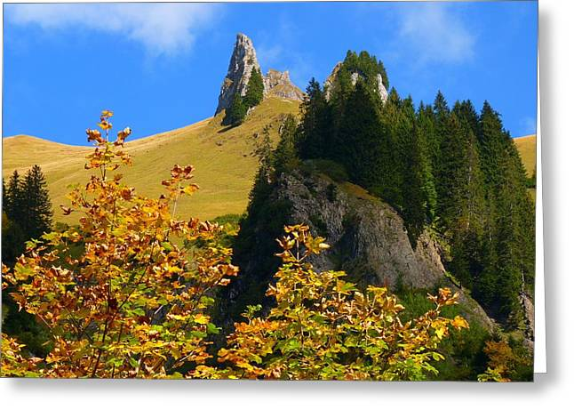 Colorful Cloud Formations Greeting Cards - A Splendid Autumn Greeting Card by Mountain Dreams