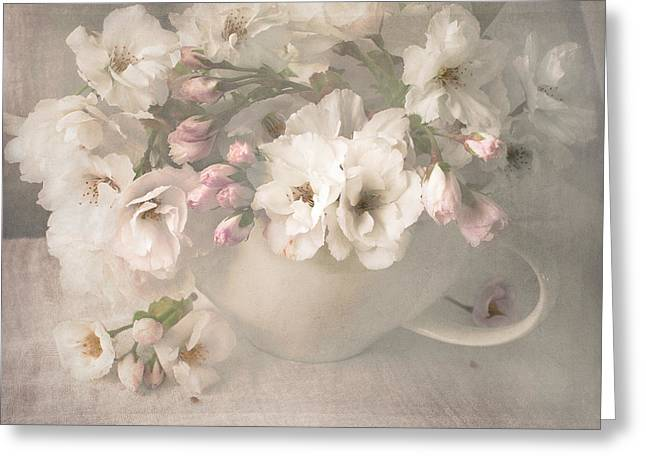Constance Fein Harding Greeting Cards - A Spring Blush Greeting Card by Constance Fein Harding