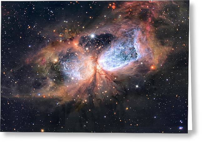 Interstellar Space Greeting Cards - A Star is Born Greeting Card by Nomad Art And  Design