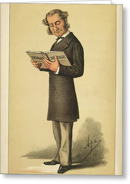 A Statesman Greeting Card by British Library