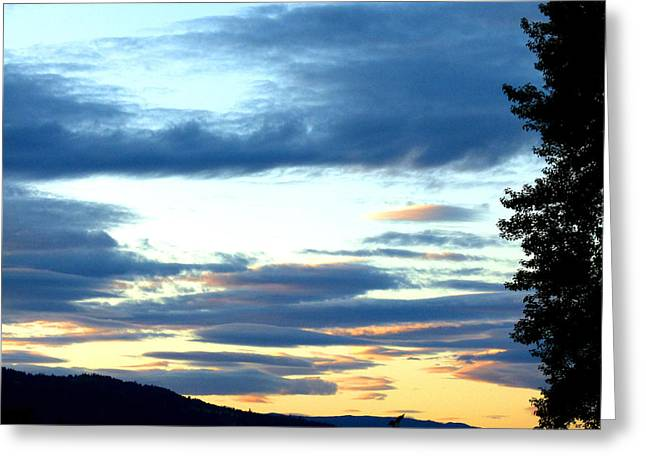Magnificent Landscape Greeting Cards - A Stellar Sunset Greeting Card by Will Borden