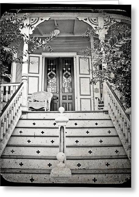 Paint Photograph Greeting Cards - A Step Back in Time Greeting Card by Colleen Kammerer