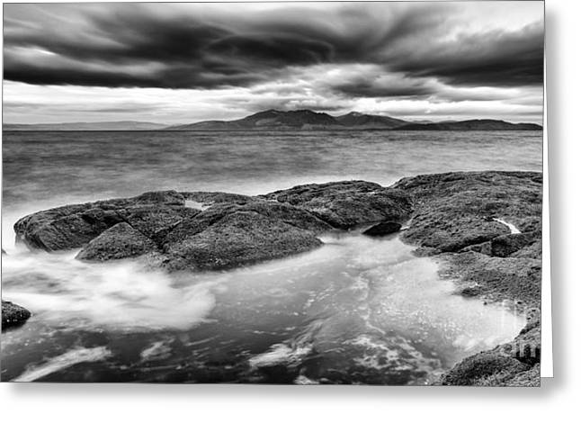 Ayrshire Greeting Cards - A storm brewing Greeting Card by John Farnan