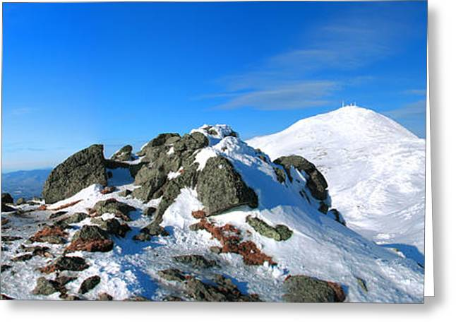 New England Snow Scene Greeting Cards - A Summer Day in March Greeting Card by Christopher Whiton