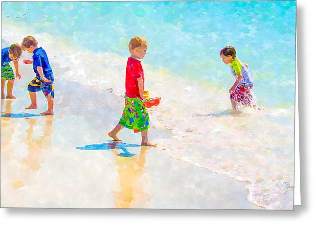 A Hot Summer Day Greeting Cards - A Summer To Remember II Greeting Card by Susan Molnar