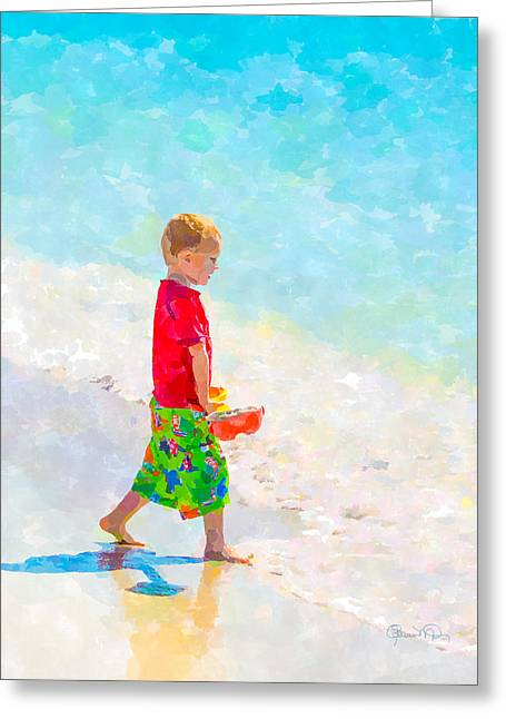 A Hot Summer Day Greeting Cards - A Summer To Remember III Greeting Card by Susan Molnar