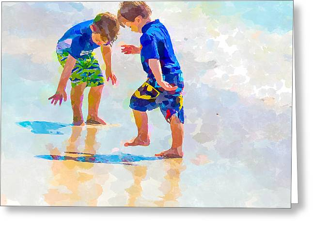 A Hot Summer Day Greeting Cards - A Summer to Remember IV Greeting Card by Susan Molnar
