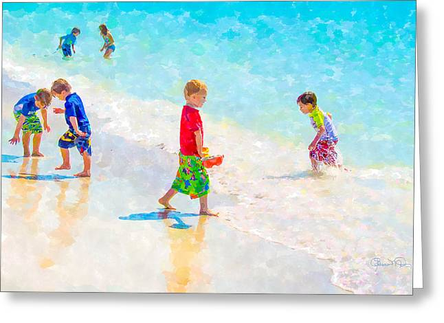 A Hot Summer Day Greeting Cards - A Summer To Remember Greeting Card by Susan Molnar