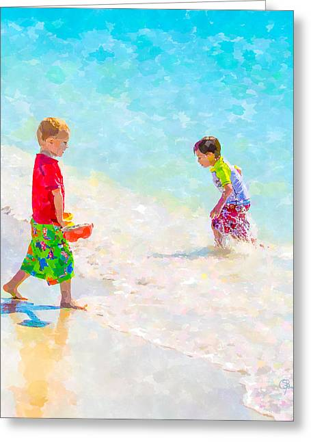 A Hot Summer Day Greeting Cards - A Summer to Remember V Greeting Card by Susan Molnar