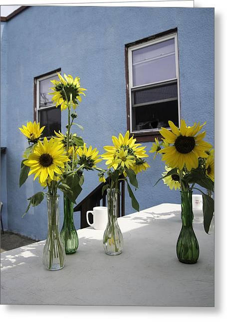 A Sunny Day Greeting Card by Michael Glenn