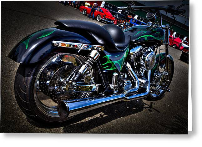 Handle Bar Greeting Cards - A Sweet Ride Greeting Card by David Patterson