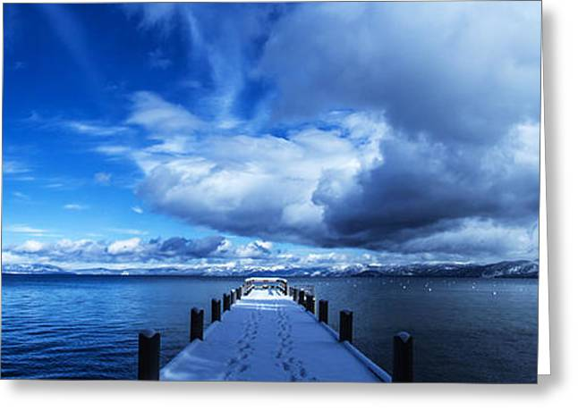 Brad Scott Greeting Cards - A Tahoe Winters Dream Greeting Card by Brad Scott