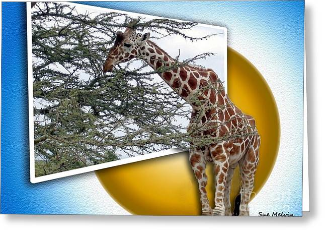 Creative Manipulation Greeting Cards - A Taste from the Other Side Greeting Card by Sue Melvin