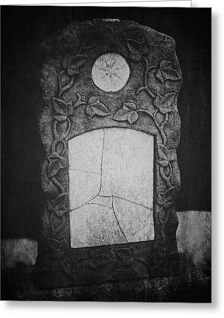 Headstones Greeting Cards - A Tear In The Fabric Greeting Card by Odd Jeppesen