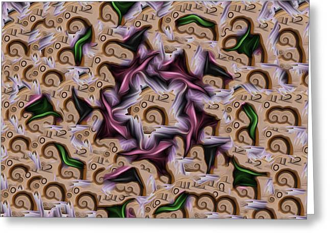 A Tear In The Space Time Continuum Greeting Card by Jimi Bush
