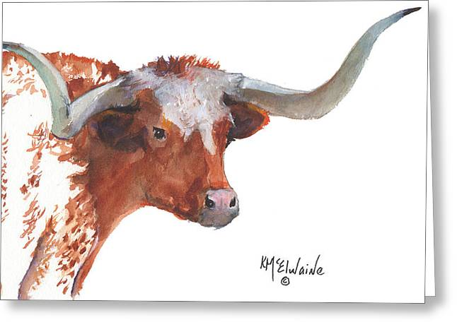 """texas Artist"" Greeting Cards - A Texas Treasure Greeting Card by Kathleen McElwaine"
