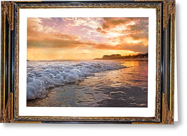Frame House Digital Greeting Cards - A Time of Comfort Greeting Card by Betsy C  Knapp