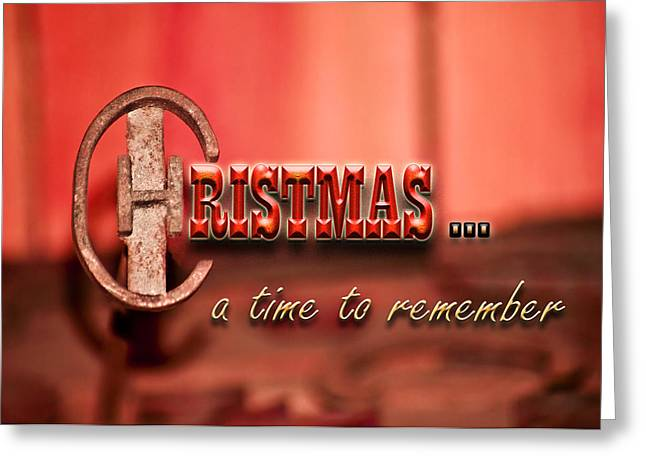A Time To Remember Greeting Card by Carolyn Marshall