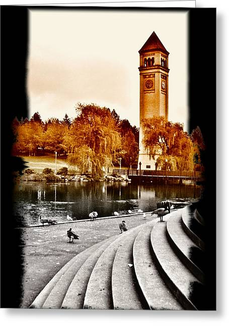 Spokane Greeting Cards - A Time to Remember Greeting Card by Susan Kinney
