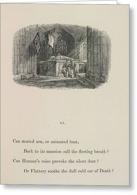 A Tomb Greeting Card by British Library