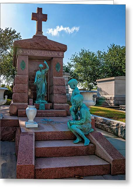 Metairie Greeting Cards - A Tomb to Die For Greeting Card by Steve Harrington