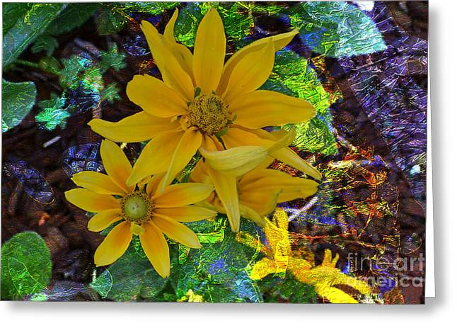 Floral Photographs Mixed Media Greeting Cards - A Touch of HEAVEN Greeting Card by Beverly Guilliams