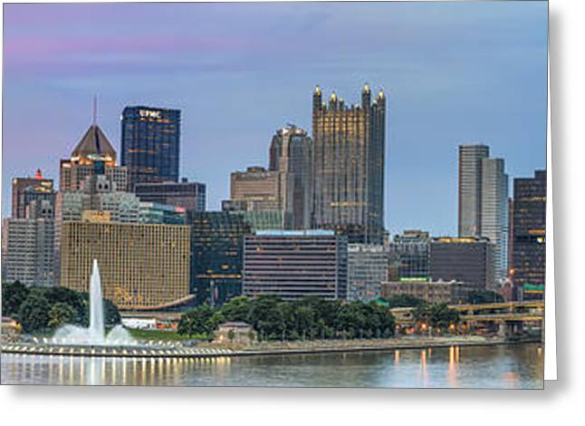 Allegheny Greeting Cards - A Touch of Pink Greeting Card by Jennifer Grover