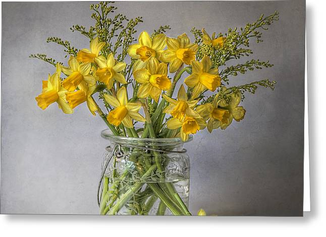A Touch of Spring Greeting Card by Jacky Parker