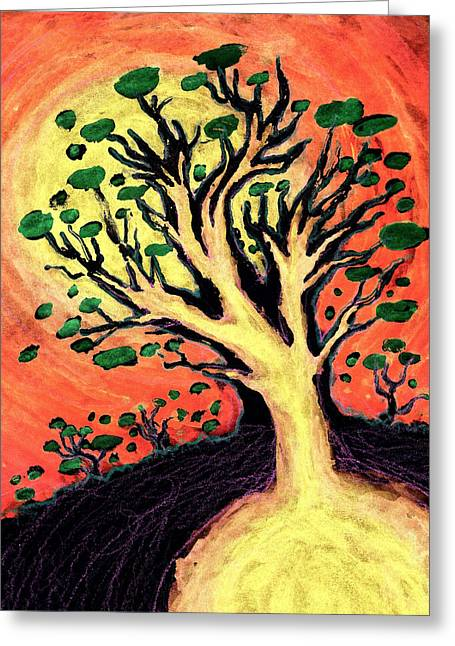 Book Cover Art Mixed Media Greeting Cards - A Tree Is Born Greeting Card by David Condry