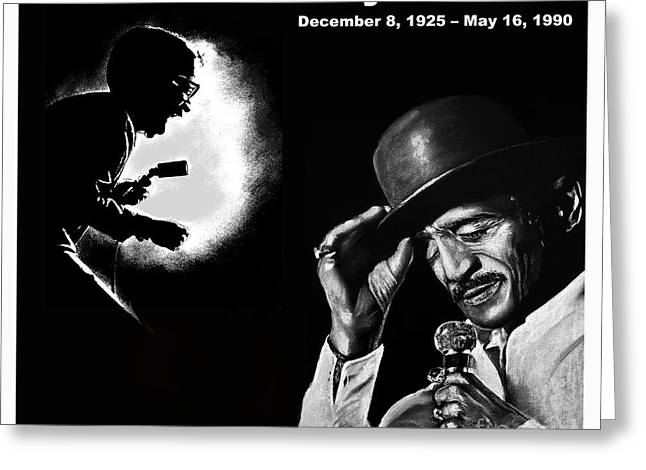 Bojangles Greeting Cards - A Tribute to Sammy Davis Jr Greeting Card by Jim Fitzpatrick