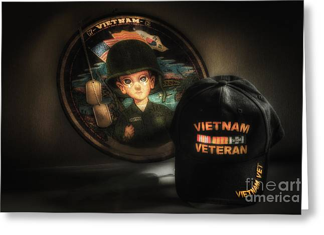 Viet Nam Greeting Cards - A Tribute To Viet Nam Vets Greeting Card by Arnie Goldstein