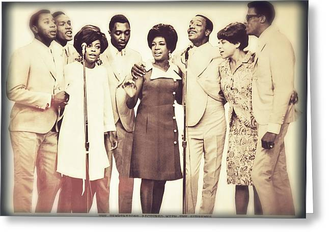 Rare Moments Greeting Cards - Motown Harmony Greeting Card by Kellice Swaggerty