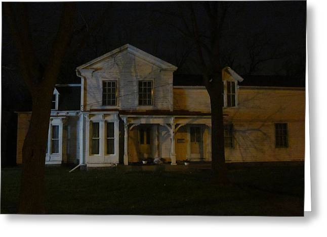 Guy Ricketts Photography And Art Greeting Cards - A Very Old House I Know Greeting Card by Guy Ricketts