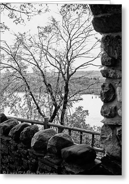 A View From Gillette Castle Greeting Card by Laura DAddona