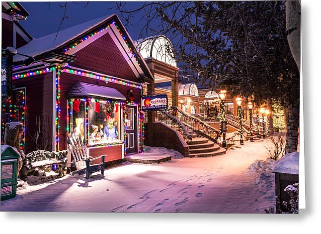 Trail Greeting Cards - A Walk in the Snow Greeting Card by Michael J Bauer