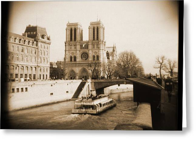 Toy Boat Greeting Cards - A Walk Through Paris 22 Greeting Card by Mike McGlothlen