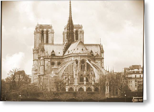 People Digital Greeting Cards - A Walk Through Paris 25 Greeting Card by Mike McGlothlen